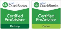 Intuit Quickbooks Certified ProAdvisor | Desktop and Online